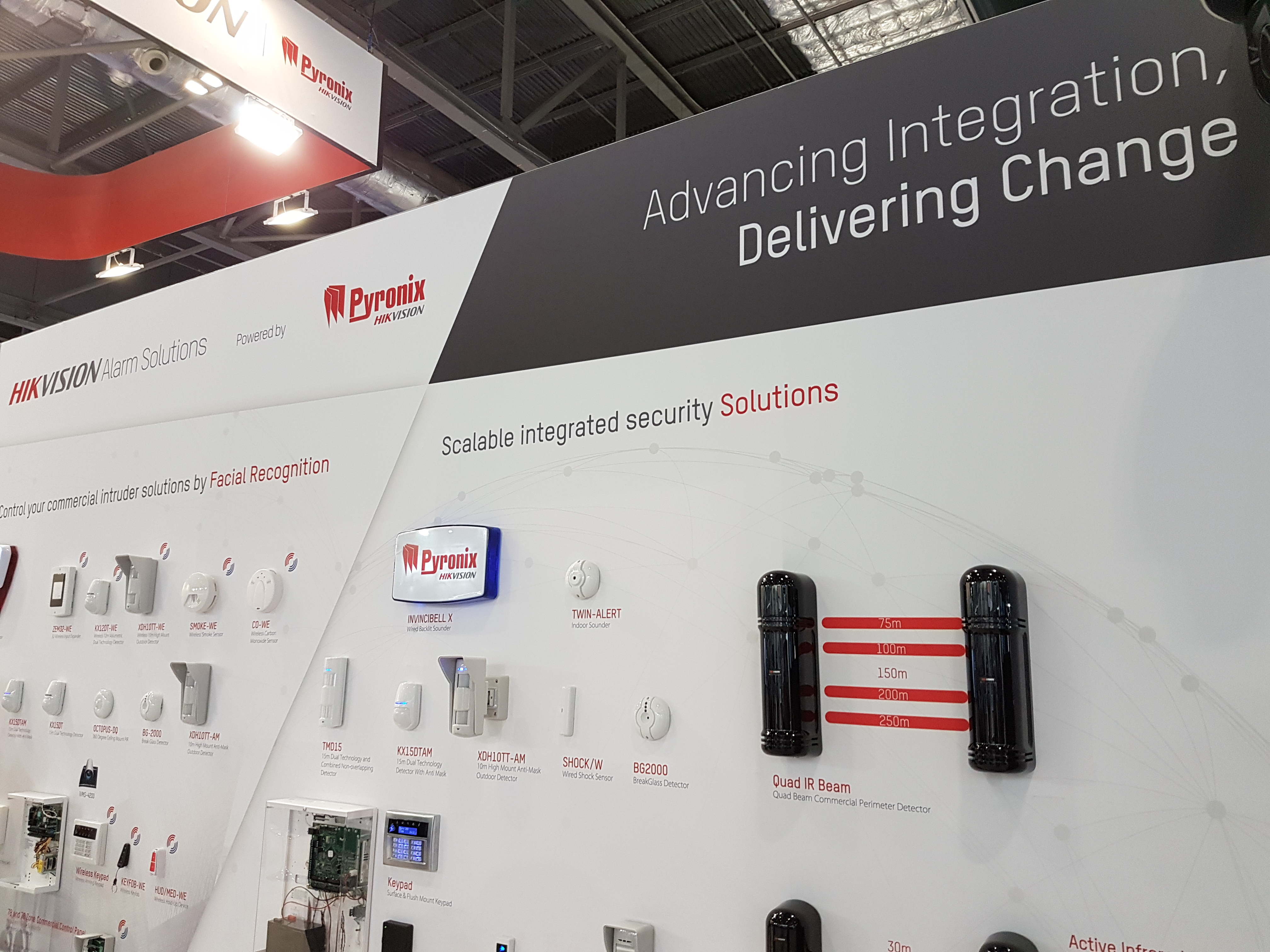 Ifsec 2018 A Show Of Delivering Change Pyronix The Experience Each Area Provided Here Now And Future Security With Offerings That Are Available As Well Soon To Be An