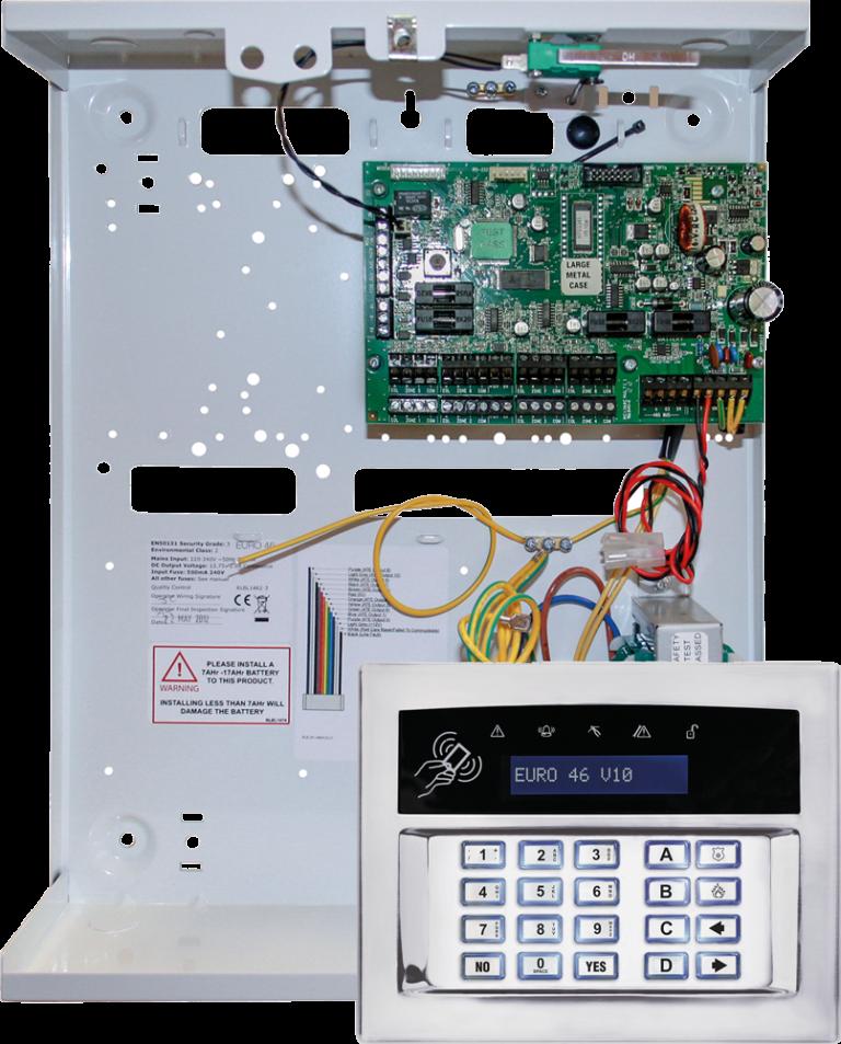 EURO 46 V10 | Security & Alarm System Product Range