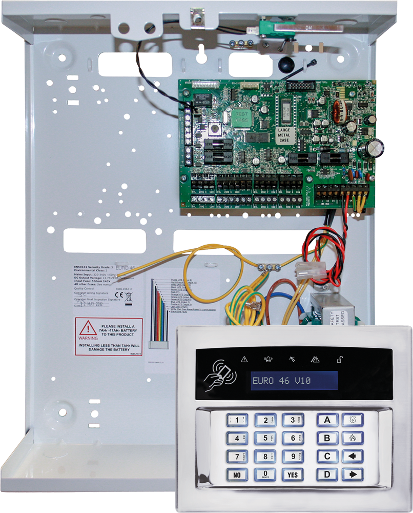 Euro Zem32 We Security Alarm System Product Range Pyronix Uk Roi Fire Wiring Diagram For Class X
