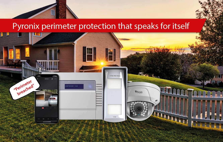 Perimeter protection that speaks for itself | Pyronix UK & ROI