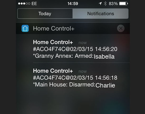 Homecontrol Security System App Software Pyronix