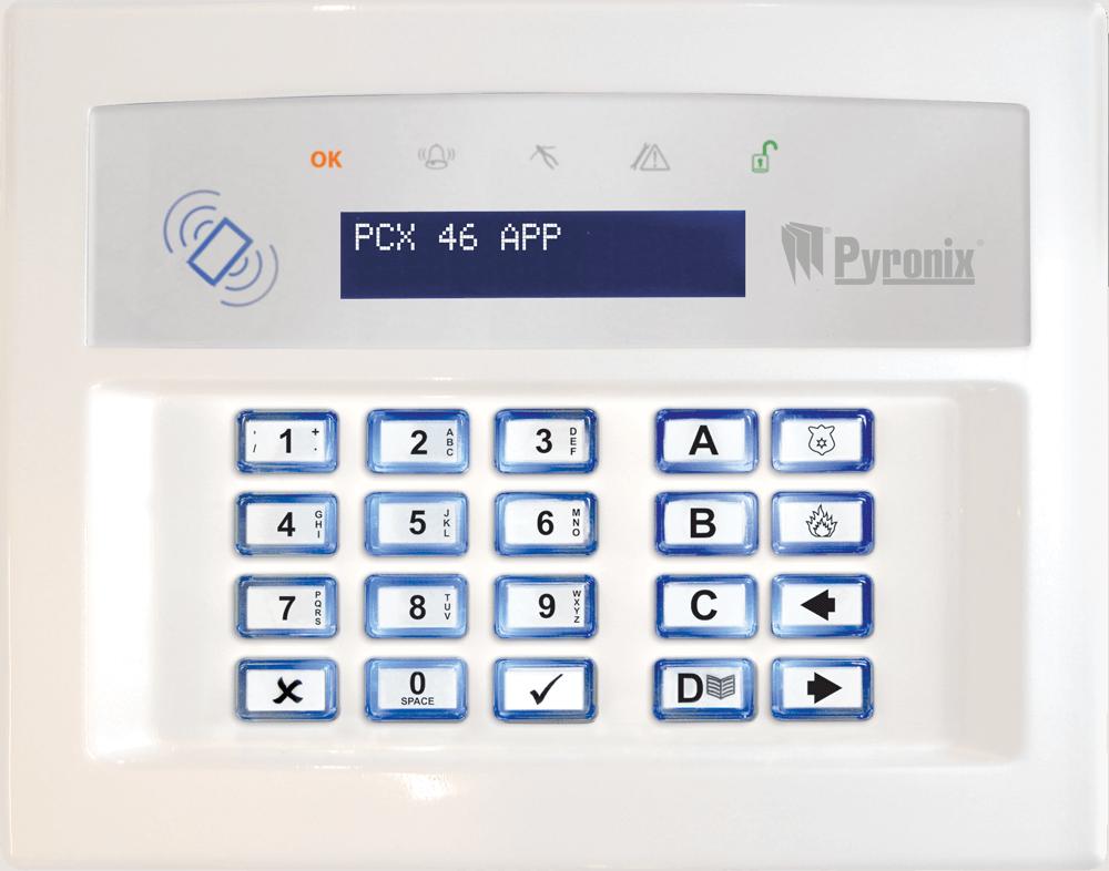PCX 46 APP   Security & Alarm System Product Range   Pyronix